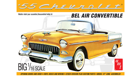 1955 Chevy Bel Air convertible 1/16