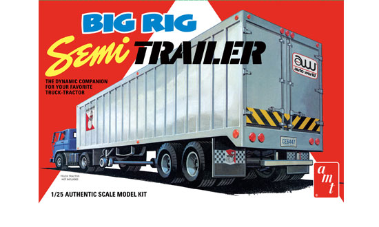 Big Rig Semi Trailer 1/25