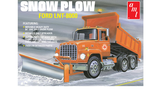 Ford LNT-8000 Snow Plow 1/25