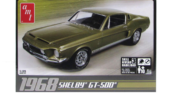 Shelby GT500 1968 1/25