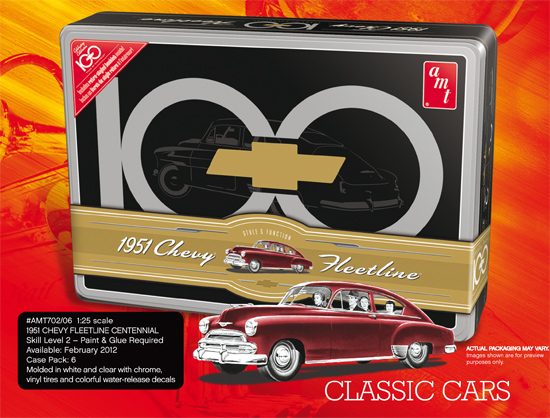 Chevy Fleetline Anni. TIN 1/25