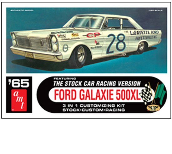 Ford Galaxie Stock Car 1/25