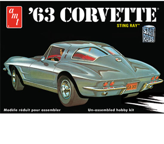 Corvette Chevy 1963 1/25