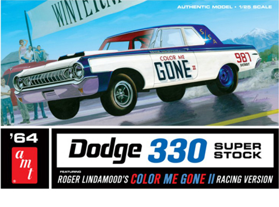 Dodge Color Me Gone 1/25