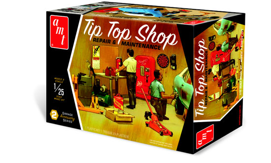 Garage Accessory Set #2 Tip Top Shop 1/25