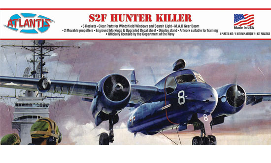 S2F Hunter Killer 1/54