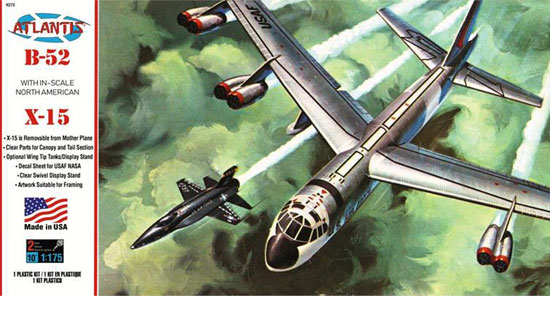 B-52 and X-15 with swivel stand 1/175