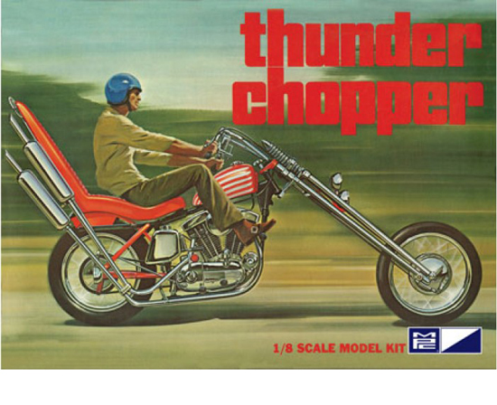Thunder Chopper Bike 1/8