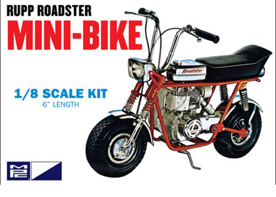 Rupp Roadster Mini Bike 1/8