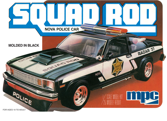 Chevy Police Car 1979 1/25
