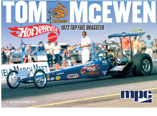 Tom Mongoose Dragster 1/25