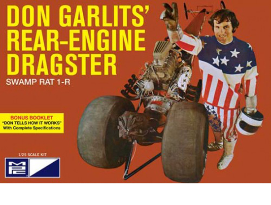 Don Garlits Rear E. Dragster 1/25