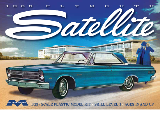 Plymouth Satellite 1965 1/25