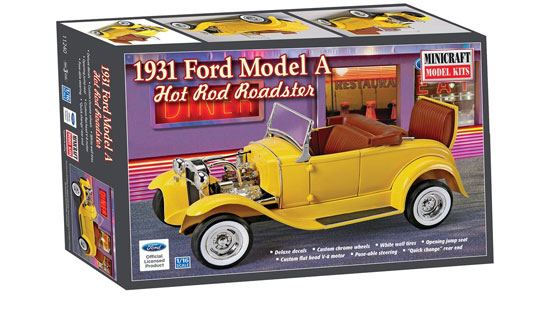 Ford Roaster 31 Hot Rod 1/16