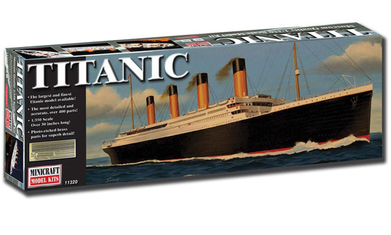 RMS TITANIC 1/350 Deluxe edition