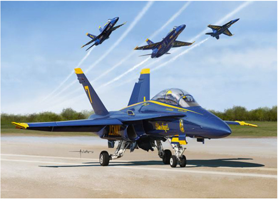 F/A-18A/B/C/D Blue Angels 1/48
