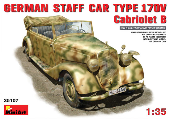 German Staff Cabriolet 1/35