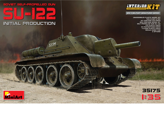 SU-122 Early 1/35 Full Int.