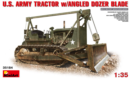 US Army Tractor + Blade 1/35