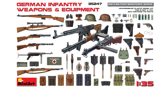 German Infant. Weapons 1/35