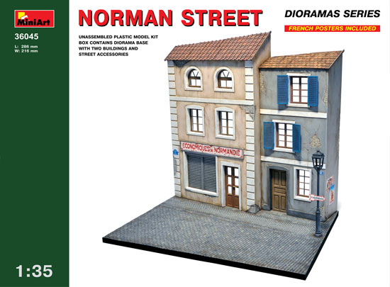 Rue Normande WWII 1/35