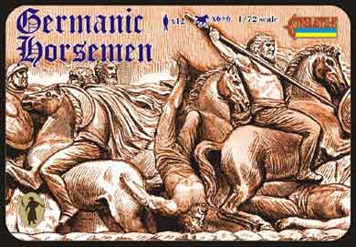 GERMANIC HORSEMEN  1/72