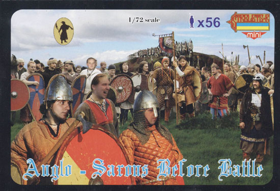 Anglo Saxons avt Bataille 1/72