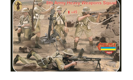8th Army Heavy Weapons Squad