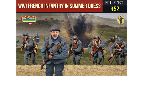 WW1 French infantry in summer dress