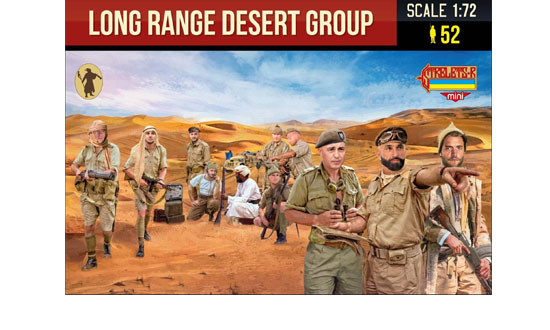 Long range desert group 1/72