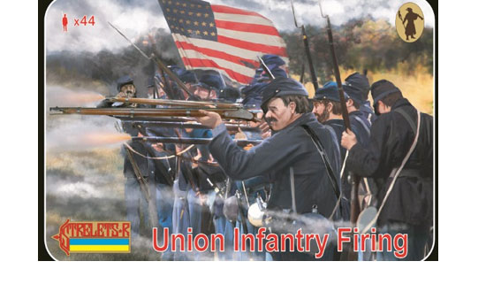 Union Infantry Firing