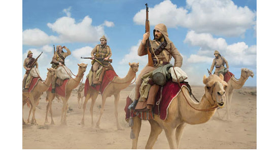 Turkish Camel Corps