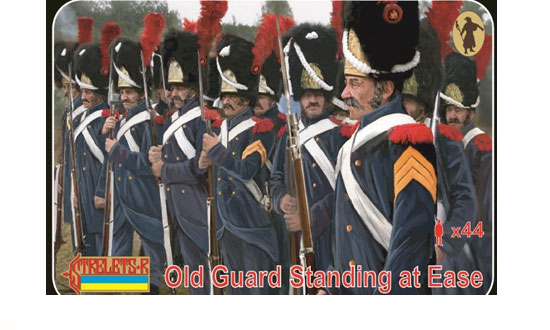 Old Guard Standing at Ease