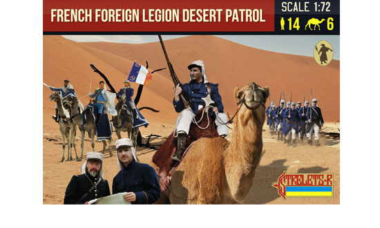 French Foreign Legion Desert Patrol