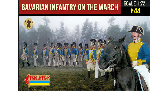 Bavarian Infantry on the March 1/72