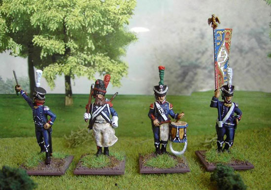 COMMANDEMENT FRANCAIS 28mm