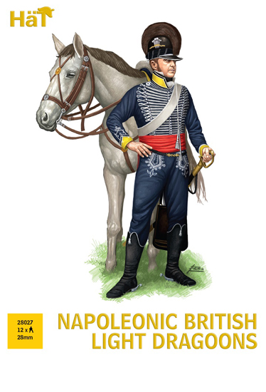 Napol. British Light Dragons 28mm