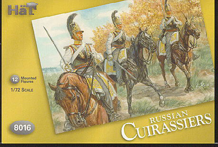 CUIRASSIERS RUSSES 1/72