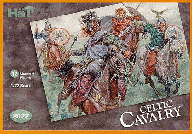 GALLIC CAVALERIE (Celtes) 1/72
