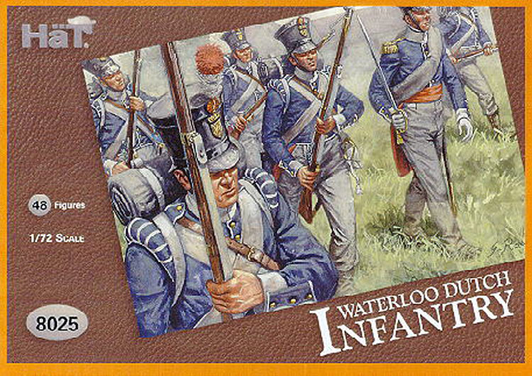 INF. ALLEMANDE WATERLOO  1/72