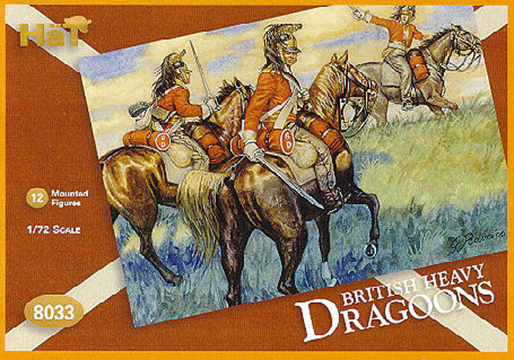 DRAGONS ANGLAIS NAPOL.  1/72