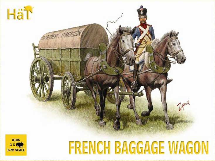 Fourgons à bagages Napol. 1/72