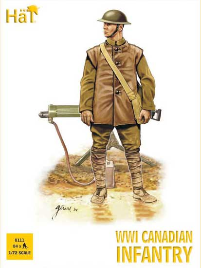 Infanterie Canadienne WWI 1/72