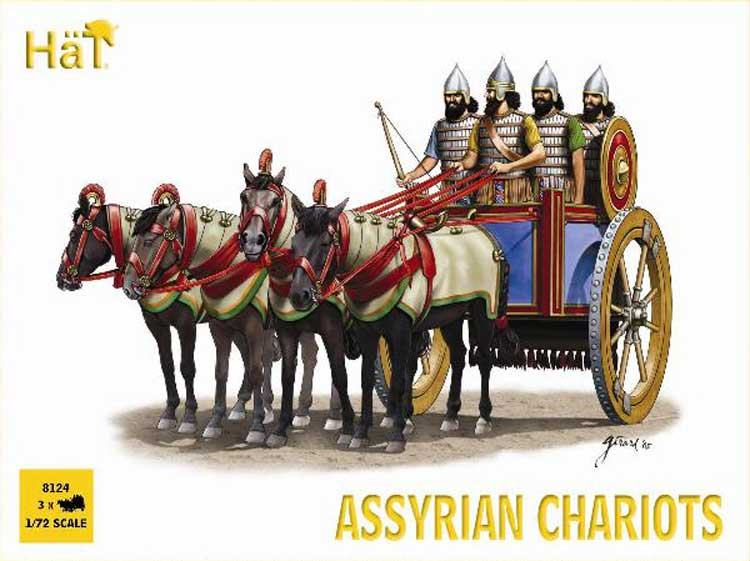 Chariots Assyriens  1/72