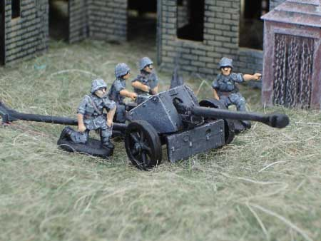 German Pack 36 75mm ATGun 1/72