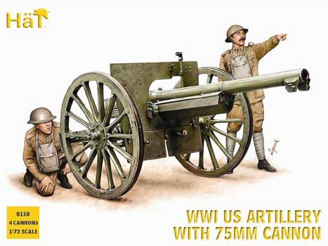 CANON US WWI 75mm  1/72