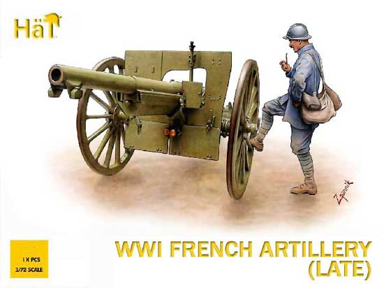 CANON FRANCAIS 75mm  WWI 1/72