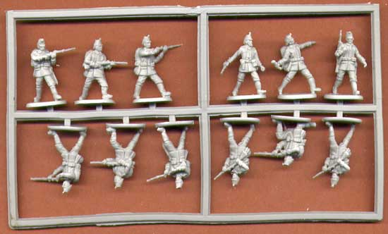 TIREURS ALLEMANDS WWI 1/72