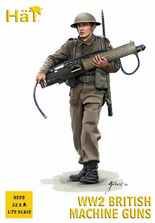 MITRAILLEURS ANGLAIS WWII 1/72