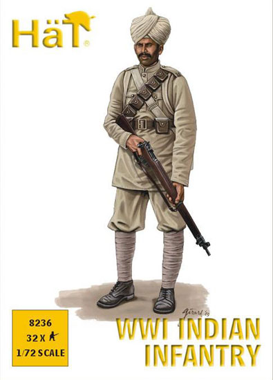 Infanterie Indienne WWI 1/72